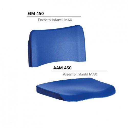 Componentes plásticos para cadeiras